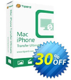 Tipard Mac iPhone Transfer Ultimate Lifetime License discount coupon 50OFF Tipard - 50OFF Tipard