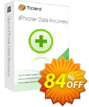 Get Tipard iPhone Data Recovery 84% OFF coupon code