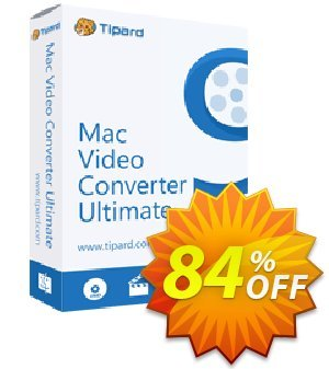Tipard Mac Video Converter Ultimate Coupon discount Tipard Mac Video Converter Ultimate awful discount code 2019 - 50OFF Tipard