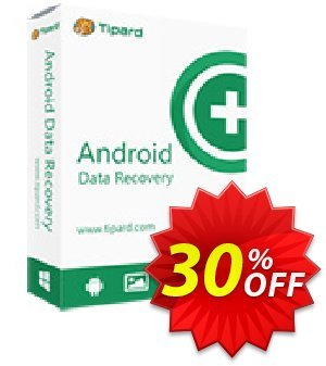 Get Tipard Android Data Recovery 30% OFF coupon code