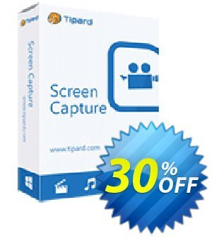 Tipard Screen Capture discount coupon 50OFF Tipard - 50OFF Tipard