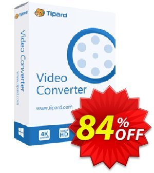 Tipard Video Converter - 1 Year discount coupon 50OFF Tipard - 50OFF Tipard