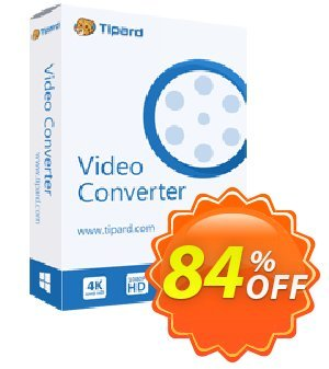 Tipard Video Converter One Year License Coupon, discount 50OFF Tipard. Promotion: 50OFF Tipard