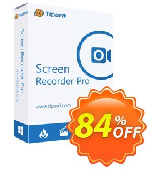 Screen Capture Pro Coupon, discount 50OFF Tipard. Promotion: 50OFF Tipard
