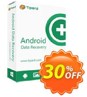 Get Tipard Broken Android Data Extraction 30% OFF coupon code