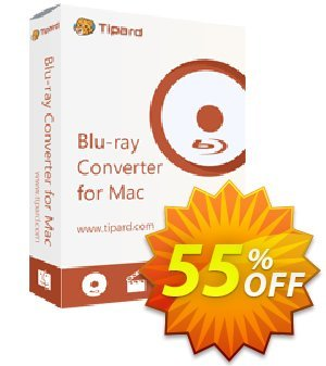 Tipard Blu-ray Converter for Mac One Year License Coupon, discount 50OFF Tipard. Promotion: 50OFF Tipard