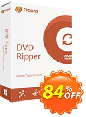 Tipard DVD Ripper - 1 year Coupon discount 50OFF Tipard - 50OFF Tipard