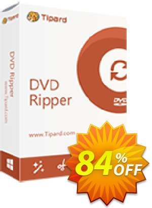 Tipard DVD Ripper (1 Year) discount coupon 84% OFF Tipard DVD Ripper (1 Year), verified - Formidable discount code of Tipard DVD Ripper (1 Year), tested & approved