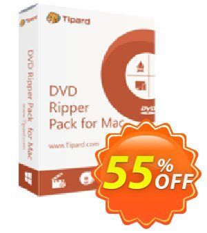 Tipard DVD Ripper Pack for Mac Lifetime License Coupon, discount Tipard DVD Ripper Pack for Mac best promo code 2019. Promotion: 50OFF Tipard