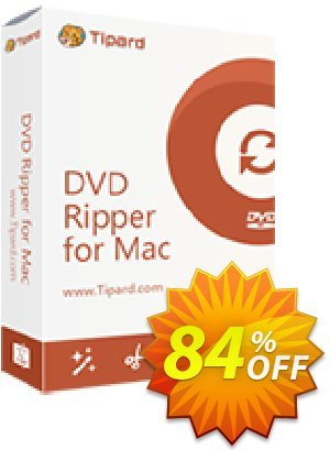 Tipard DVD to MOV Converter for Mac discount coupon 50OFF Tipard - 50OFF Tipard