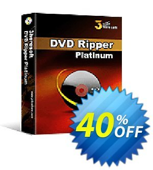 3herosoft DVD Ripper Platinum Coupon, discount 3herosoft Software Studio (19697). Promotion:
