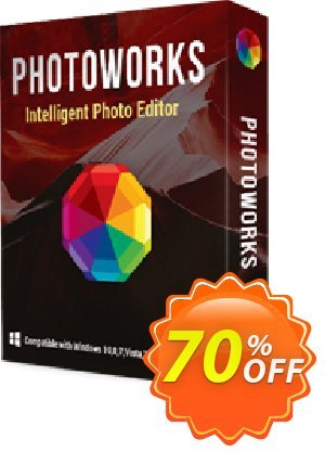 PhotoWorks Deluxe Coupon, discount PhotoWorks Deluxe PCC 9.0 PRO Coupon. Promotion: