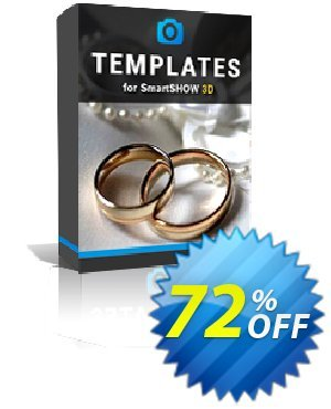 "SmartSHOW 3D - ""3D Wedding Album"" Templates discount coupon ?????? PCC 9.0 PRO -"