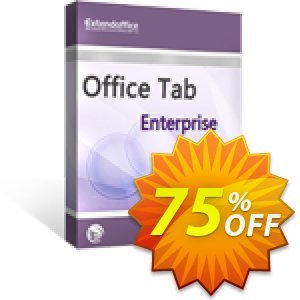 Office Tab Enterprise产品销售 extendoffice discount 19827