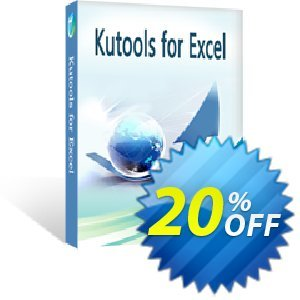Kutools for Excel Coupon discount 20% off All products - 25% Off for All Upgrade