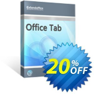 Office Tab 프로모션  20% OFF Office Tab Oct 2019