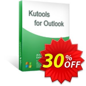 Kutools for Outlook discount coupon 30% OFF Kutools for Outlook, verified - Wonderful deals code of Kutools for Outlook, tested & approved