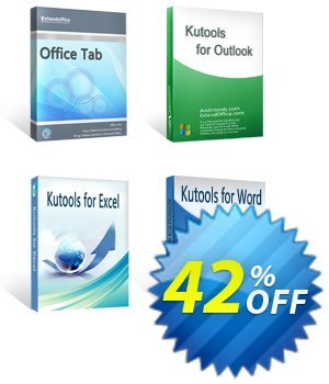 Office Tab + Kutools for Excel / Outlook / Word discount coupon 30% OFF Office Tab + Kutools for Excel / Outlook / Word, verified - Wonderful deals code of Office Tab + Kutools for Excel / Outlook / Word, tested & approved