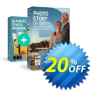 MAGIX Photostory Traveler Edition 프로모션 코드 10% OFF MAGIX Photostory Traveler Edition 2021 프로모션: Special promo code of MAGIX Photostory Traveler Edition, tested in {{MONTH}}