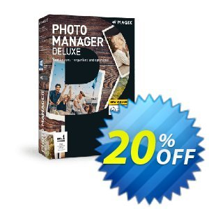 MAGIX Photo Manager Deluxe Coupon discount 10% OFF MAGIX Photo Manager Deluxe 2020. Promotion: Special promo code of MAGIX Photo Manager Deluxe, tested in {{MONTH}}