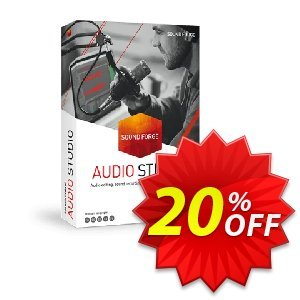 MAGIX SOUND FORGE Audio Studio 13 Coupon discount 33% OFF MAGIX SOUND FORGE Audio Studio 13 Nov 2019 - Special promo code of MAGIX SOUND FORGE Audio Studio 13, tested in November 2019