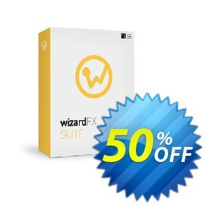wizardFX Suite Coupon, discount 50% OFF wizardFX Suite, verified. Promotion: Special promo code of wizardFX Suite, tested & approved