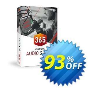MAGIX SOUND FORGE Audio Studio 365 Coupon discount 93% OFF MAGIX SOUND FORGE Audio Studio 365 Nov 2019 - Special promo code of MAGIX SOUND FORGE Audio Studio 365, tested in November 2019