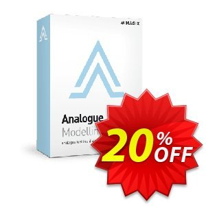 MAGIX Analogue Modelling Suite Plus discount coupon 20% OFF MAGIX Analogue Modelling Suite Plus, verified - Special promo code of MAGIX Analogue Modelling Suite Plus, tested & approved