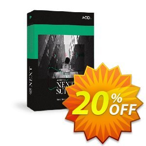 ACID Pro Next Suite Coupon discount 5% OFF ACID Pro Next Suite Nov 2019 - Special promo code of ACID Pro Next Suite, tested in November 2019