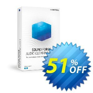 MAGIX SOUND FORGE Audio Cleaning Lab割引コード・30% OFF MAGIX SOUND FORGE Audio Cleaning Lab 2020 キャンペーン:Special promo code of MAGIX SOUND FORGE Audio Cleaning Lab, tested in {{MONTH}}
