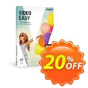 MAGIX Video easy discount coupon 20% OFF MAGIX Video easy, verified - Special promo code of MAGIX Video easy, tested & approved
