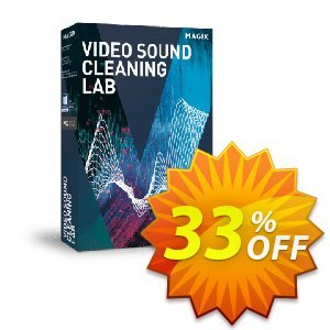 MAGIX Video Sound Cleaning Lab Coupon discount 33% OFF MAGIX Video Sound Cleaning Lab, verified