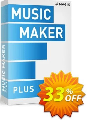 MAGIX Music Maker 2021 Plus Edition discount coupon Exclusive: MAGIX Music Maker 2020 Plus Edition - Get the MAGIX Music Maker 2020 Plus Edition with discount