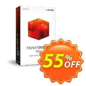MAGIX SOUND FORGE Pro Mac Coupon discount 55% OFF MAGIX SOUND FORGE Pro Mac Nov 2020 - Special promo code of MAGIX SOUND FORGE Pro Mac, tested in November 2020