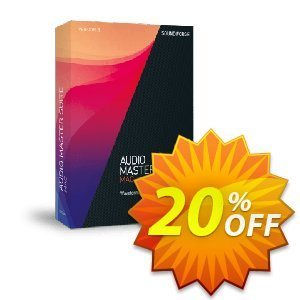 MAGIX Audio Master Suite Mac Coupon discount 10% OFF MAGIX Audio Master Suite Mac 2021