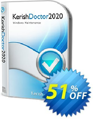 Kerish Doctor (License Key for 2 years) Coupon, discount 51% OFF Kerish Doctor (License Key for 2 years), verified. Promotion: Hottest offer code of Kerish Doctor (License Key for 2 years), tested & approved