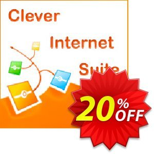Clever Internet Suite割引コード・20% OFF Clever Internet Suite, verified キャンペーン:Staggering discount code of Clever Internet Suite, tested & approved