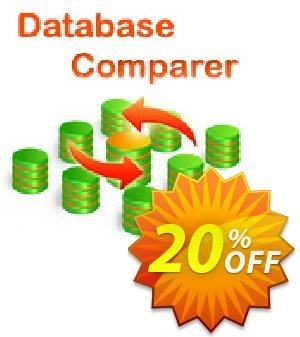 Database Comparer Tools 優惠券,折扣碼 20% OFF Database Comparer Tools, verified,促銷代碼: Staggering discount code of Database Comparer Tools, tested & approved
