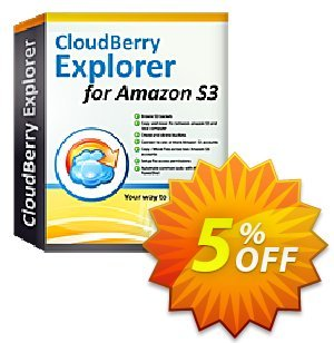CloudBerry Explorer (annual maintenance) Coupon, discount Coupon code CloudBerry Explorer - annual maintenance. Promotion: CloudBerry Explorer - annual maintenance offer from BitRecover