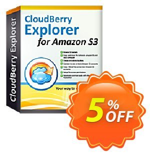 MSP360 Explorer for Amazon S3 NR discount coupon Coupon code Explorer for Amazon S3 NR - Explorer for Amazon S3 NR offer from BitRecover