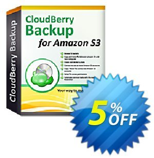 CloudBerry Backup VM Edition NR (2 sockets included) discount coupon Coupon code CloudBerry Backup VM Edition NR (2 sockets included) - CloudBerry Backup VM Edition NR (2 sockets included) offer from BitRecover