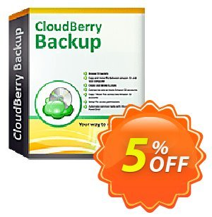 CloudBerry Backup VM (1 additional socket) Coupon, discount Coupon code CloudBerry Backup VM (1 additional socket) NR. Promotion: CloudBerry Backup VM (1 additional socket) NR offer from BitRecover