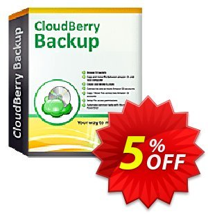CloudBerry Backup VM (1 additional socket) - annual maintenance Coupon, discount Coupon code CloudBerry Backup VM (1 additional socket) - annual maintenance. Promotion: CloudBerry Backup VM (1 additional socket) - annual maintenance offer from BitRecover