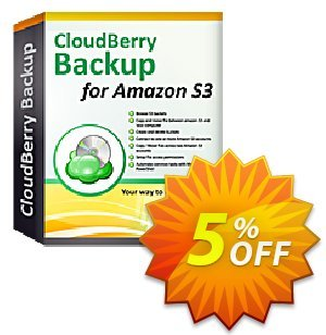 CloudBerry Backup for Linux Personal Edition - annual maintenance Coupon, discount Coupon code CloudBerry Backup for Linux Personal Edition - annual maintenance. Promotion: CloudBerry Backup for Linux Personal Edition - annual maintenance offer from BitRecover