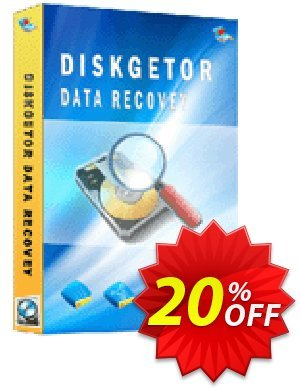 Get DiskGetor Data Recovery 20% OFF coupon code