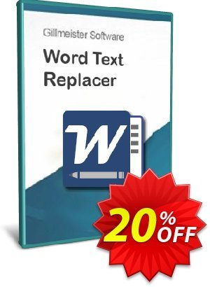Word Text Replacer Coupon, discount Coupon code Word Text Replacer 1. Promotion: Word Text Replacer 1 offer from Gillmeister Software