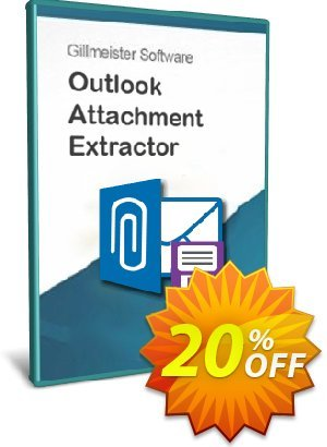 Outlook Attachment Extractor 3 - 5-User License - Upgrade Coupon, discount Coupon code Outlook Attachment Extractor 3 - 5-User License - Upgrade. Promotion: Outlook Attachment Extractor 3 - 5-User License - Upgrade offer from Gillmeister Software