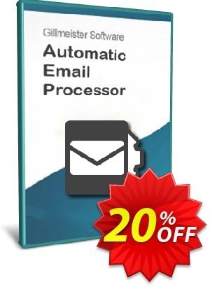 Automatic Email Processor 2 (Standard Edition) - 5-User License Coupon, discount Coupon code Automatic Email Processor 2 (Standard Edition) - 5-User License. Promotion: Automatic Email Processor 2 (Standard Edition) - 5-User License offer from Gillmeister Software