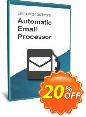 Automatic Email Processor 2 (Standard Edition) - 25-User License discount coupon Coupon code Automatic Email Processor 2 (Standard Edition) - 25-User License - Automatic Email Processor 2 (Standard Edition) - 25-User License offer from Gillmeister Software