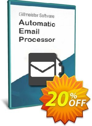 Automatic Email Processor 2 (Standard Edition) - Site License discount coupon Coupon code Automatic Email Processor 2 (Standard Edition) - Site License - Automatic Email Processor 2 (Standard Edition) - Site License offer from Gillmeister Software